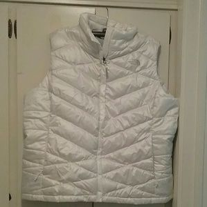 The North Face Harway vest, size XXL tall, white